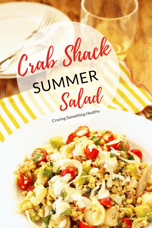 Crab Shack Summer Salad | Craving Something Healthy