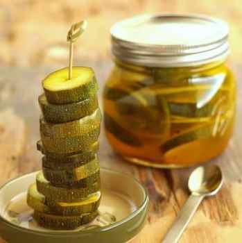 Zesty Zucchini Pickles