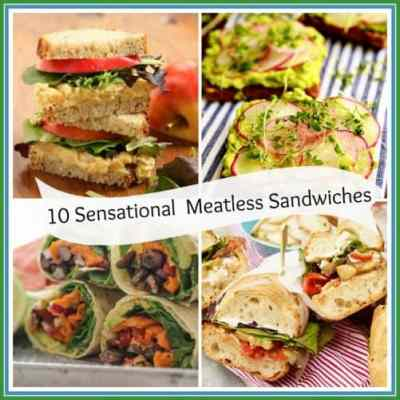 10 Sensational and Meatless Sandwiches