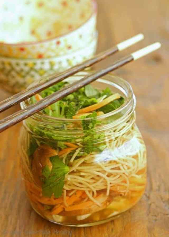 DIY Ramen Noodles|Craving Something Healthy Pasta's perfect for a quick and healthy lunch or dinner #PastaFits #sponsored