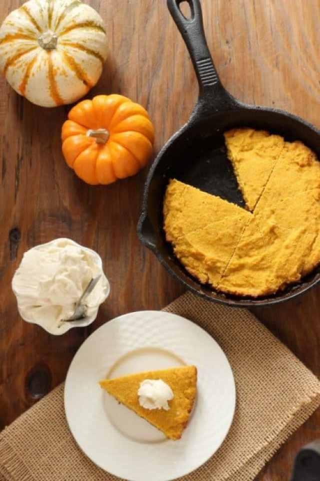 Buttermilk Pumpkin Cornbread with Maple Butter|Craving Something Healthy