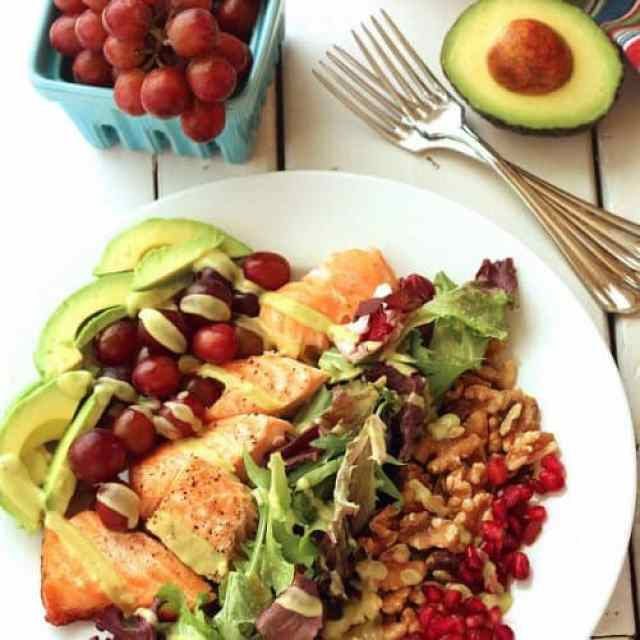 Heart Smart Grilled Salmon Plate|Craving Something Healthy