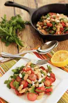 Roasted Radish and White Bean Salad|Craving Something Healthy