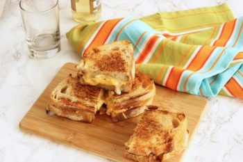 Grilled Cheddar, Brie and Apple Sandwiches|Craving Something Healthy