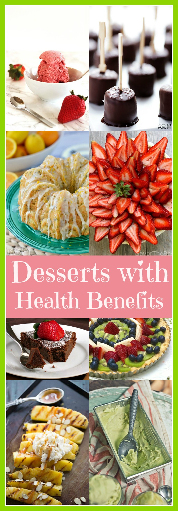 Desserts with (Health) BenefitsCraving Something Healthy