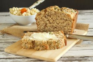 3-Seed Whole Grain & Kefir Quick Bread |Craving Something Healthy