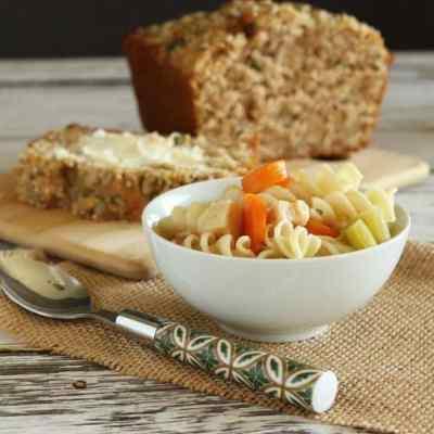 3-Seed Whole Grain & Kefir Quick Bread