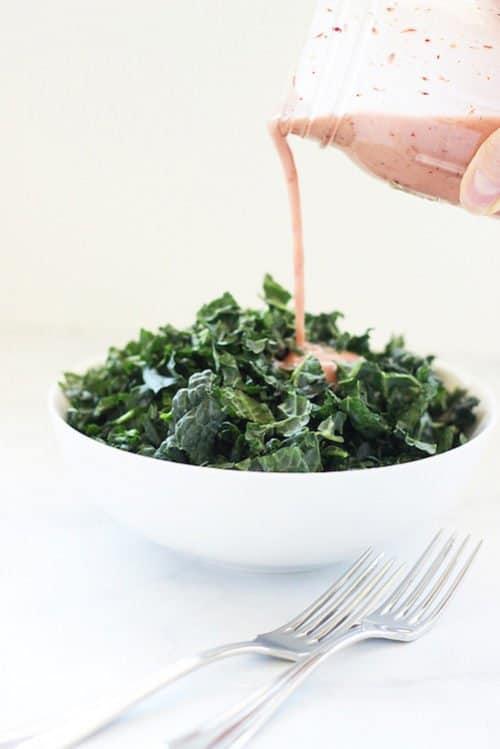 Homemade Cranberry Vinaigrette Salad Dressing Craving Something Healthy
