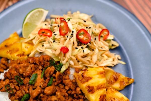 Polynesian Coleslaw [Recipe]