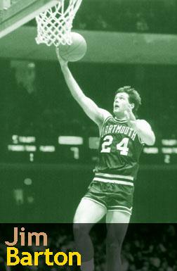 Jim Barton, Dartmouth basketball