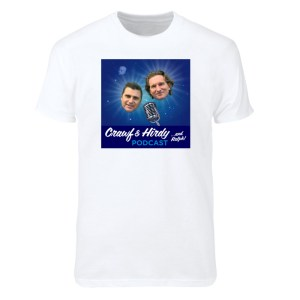Crawf & Hirdy… and Ralph! Podcast T-Shirt