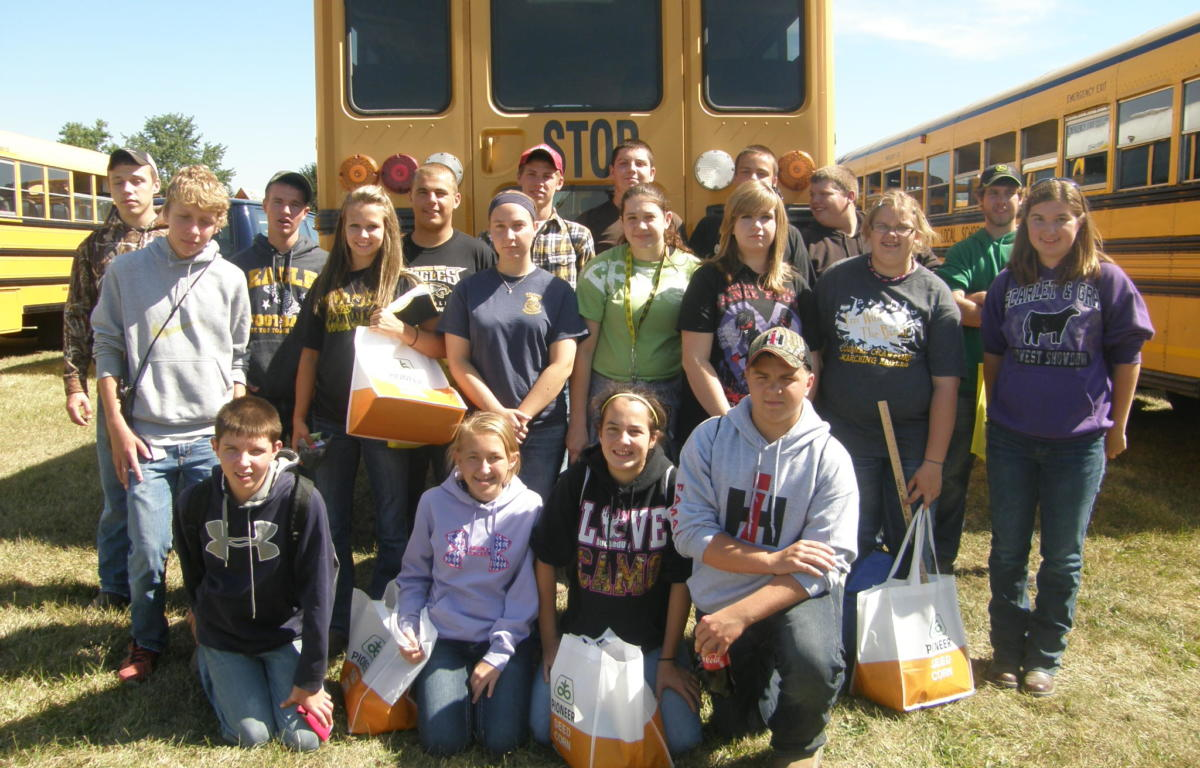 Cc Ag Students Attend Farm Science Review