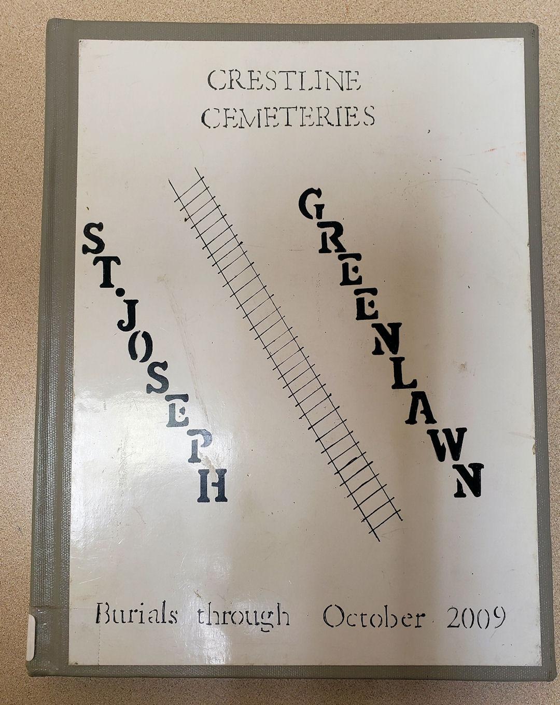 Crestline Cemeteries Book