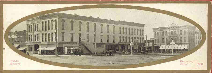 Washington Square, Bucyrus Ohio in 1911