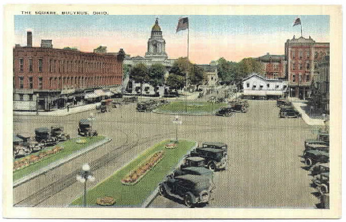 Washington Square Islands Parking circa 1920s