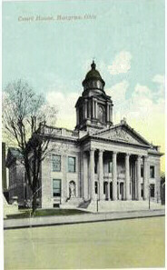 The Crawford County Courthouse as it looked in 1911