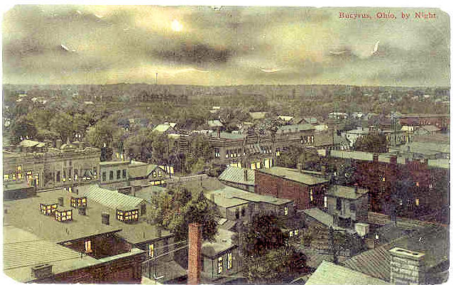 Aerial View of Bucyrus in 1911