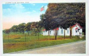 Bucyrus Country Club as it looked around 1920.