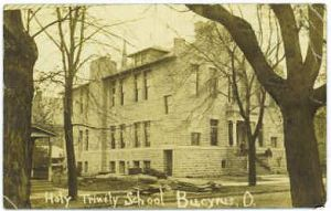 Holy Trinity School in Bucyrus Ohio ca 1911