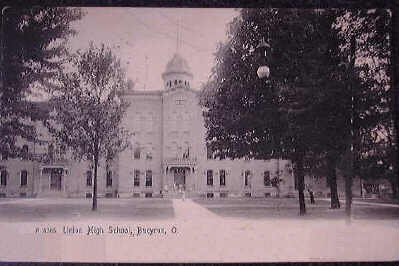 The Union High School as it looked in this 1905 photo.