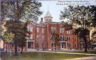 Bucyrus High School ca 1920s