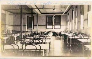 This is identified as the Bucyrus Cafeteria - Could this be the Bucyrus Restaurant or an early view of Isleys Ice Cream Store?