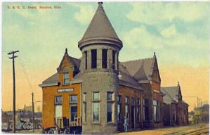 Undated view of T&OC station