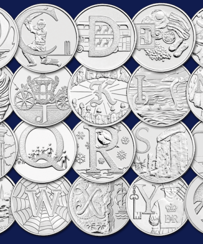 2018 The A to Z of Great British Circulated 10p