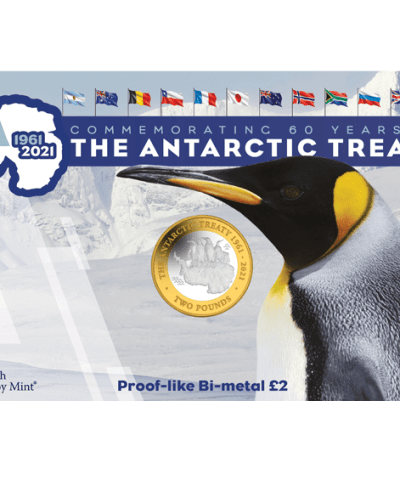 2021 Antarctic Treaty £2 BU