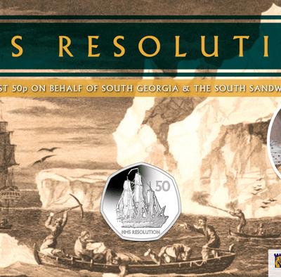2020 HMS Resolution BU Diamond Finish 50p