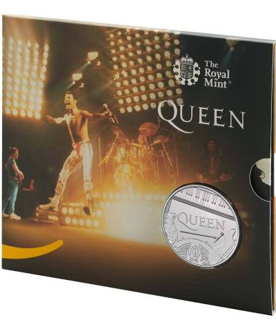 2020 Music Legend QUEEN – On Stage UK £5