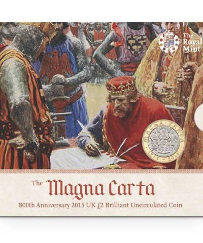 2015 The Magna Carta £2 BU