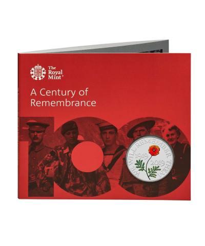 2019 Remembrance Day £5 BU