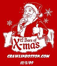 Crawl in Boston 12 Bars Logo