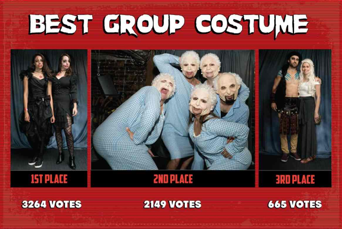 San Francisco Halloween Costume Contest Group