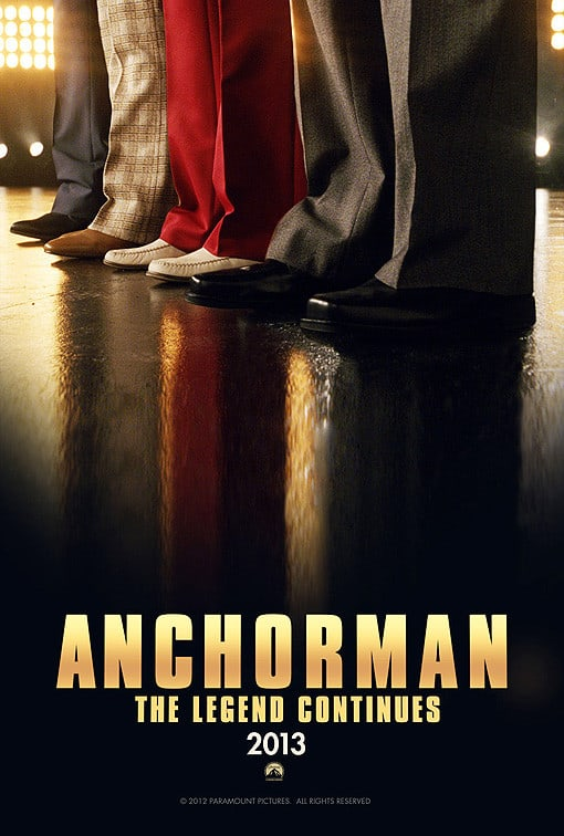 Anchorman 2 Official Poster released: This is really happening!