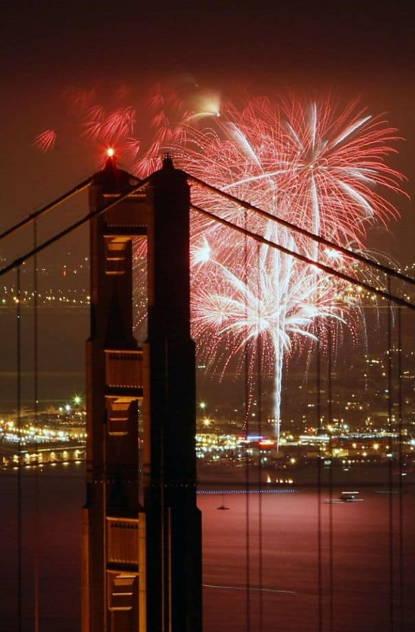 San Francisco Fourth of July Fireworks, Events and Transportation