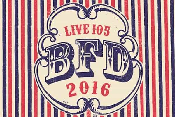 BFD 2016 Lineup