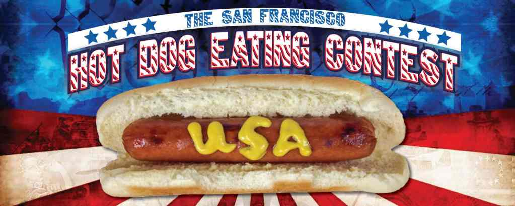 San Francisco Hot Dog Eating Contest