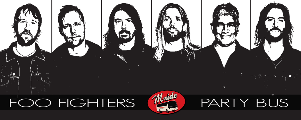 Foo Fighters Party Bus to SAP Center San Jose