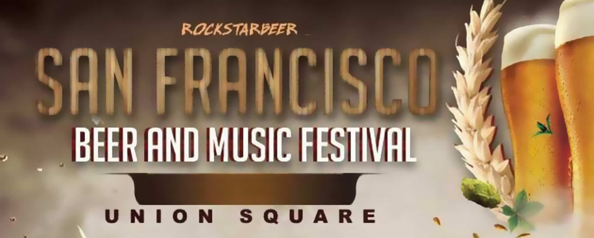 San Francisco Beer and Music Festival Union Square