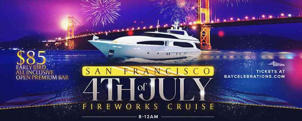 Fourth of July Fireworks Cruise
