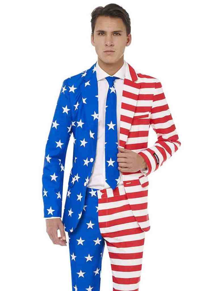 Fourth of July Flag Suit