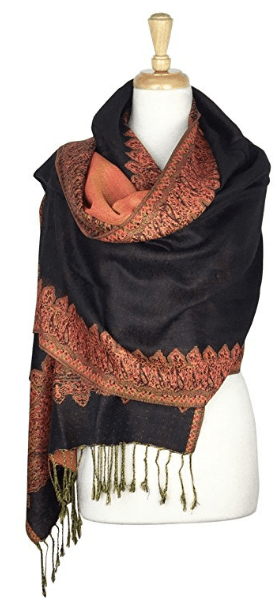 Unique Fleece Fewed, Pashmina and Kashmiri Shawls For Getting Worm With Style in Winter
