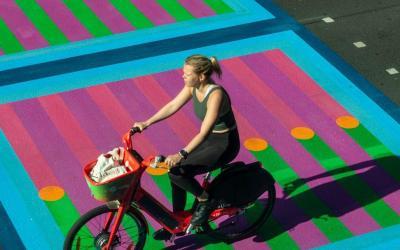 Londres : une œuvre d'art publique spectaculaire