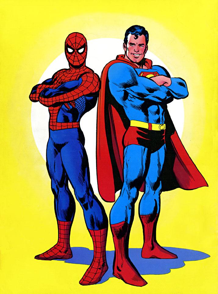 SupermanVSTheAmazingSpider-ManBack