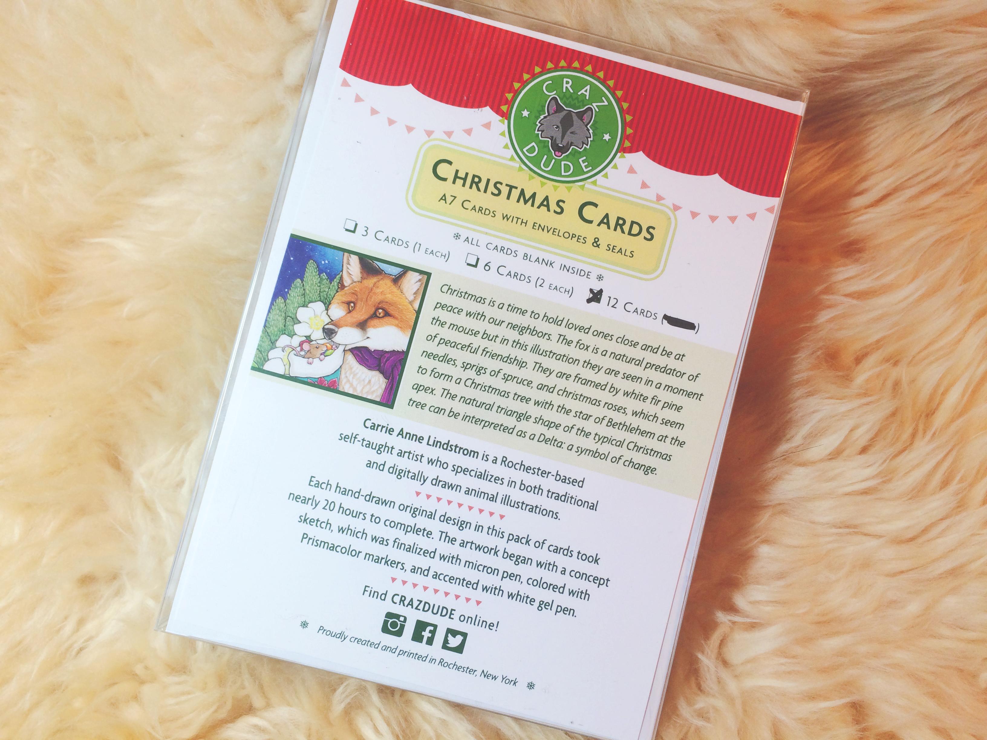 Friendship And Forgiveness On Christmas Christmas Card Crazdude