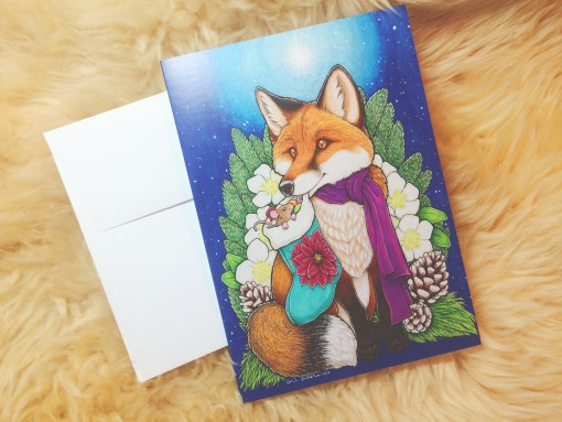Fox With Envelope