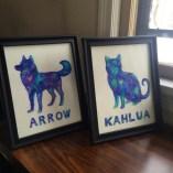Framed - Pet Portrait Product