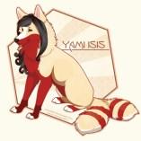 Full-body-feral-Vector-YamiIsis